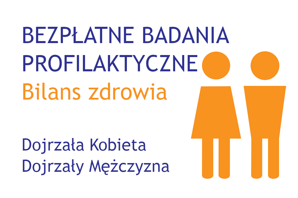 Bilans Zdrowia Dojrzałej Kobiety i Dojrzałego Mężczyzny w CM Rydygiera w Łodzi