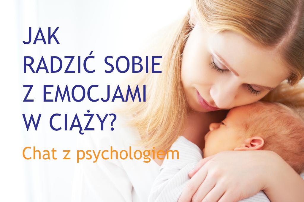 Chat z psychologiem CM Rydygiera w Łodzi - emocje w ciąży