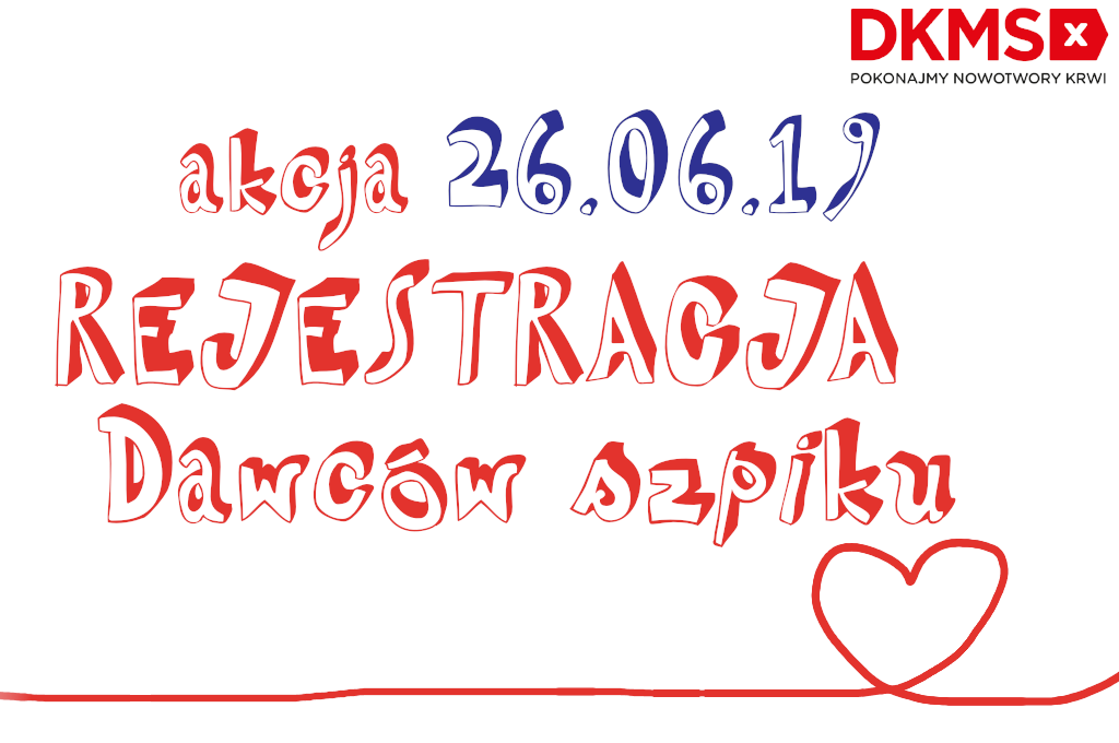 Akcja Rejestracji Dawców Szpiku w CM Rydygiera w Łodzi, w Przychodni Akademickiej PaLMA
