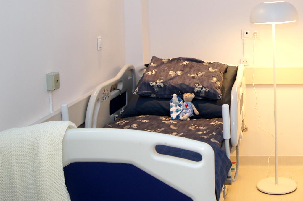 Pokój pożegnań w szpitalu Rydygiera w Łodzi